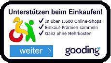 Unterstützen Sie uns mit Gooding!