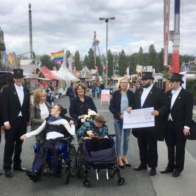 Spende der Bruchmeister für Kinder und Jugendliche mit Behinderungen in Hannover