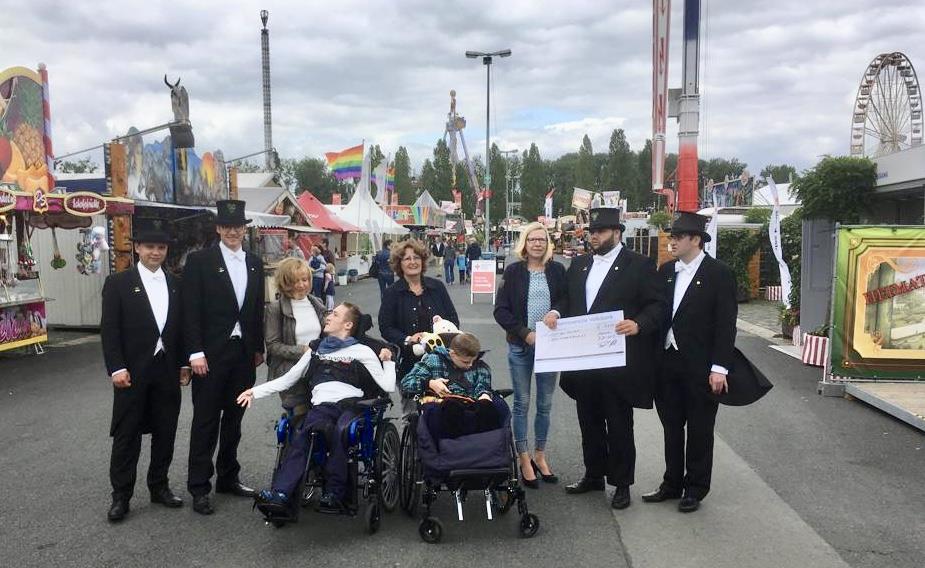 Spende der Bruchmeister für behinderte Kinder und Jugendliche in Hannover