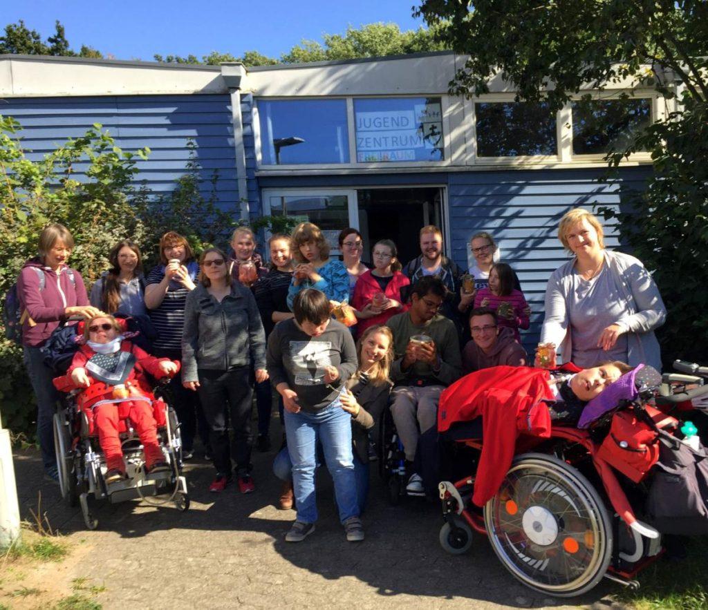 Freizeitaktion für behinderte Kinder in Hannover September 2019