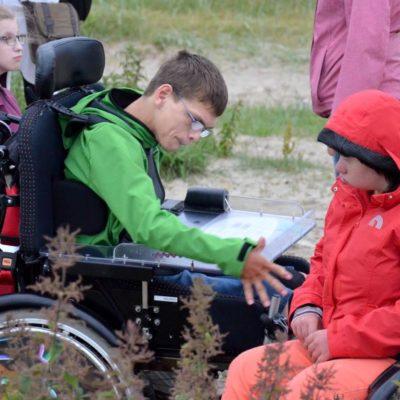 Zoo Ausflug mit behinderten Kindern aus Niedersachsen