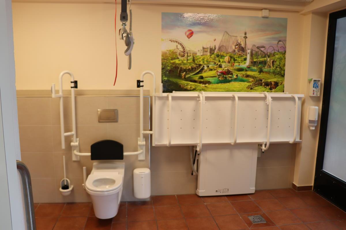 Toilette für alle im Heide Park Resort Soltau