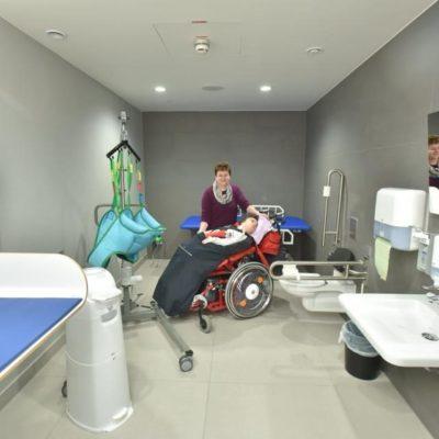Toilette für Alle - Pflegetoilette