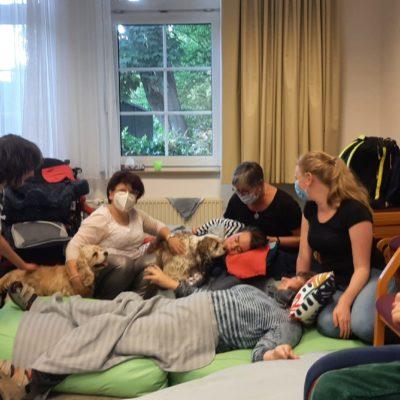 Durch Spenden ermöglichte Freizeit mit behinderten Kindern in Hannover 01